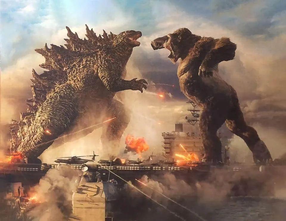 Godzilla vs. Kong still